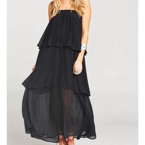 Show Me Your Mumu • NWT Black Karla Maxi Dress